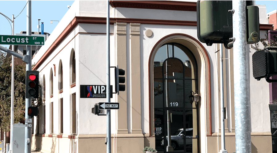 VIP Specialists clinic location in downtown Visalia, CA